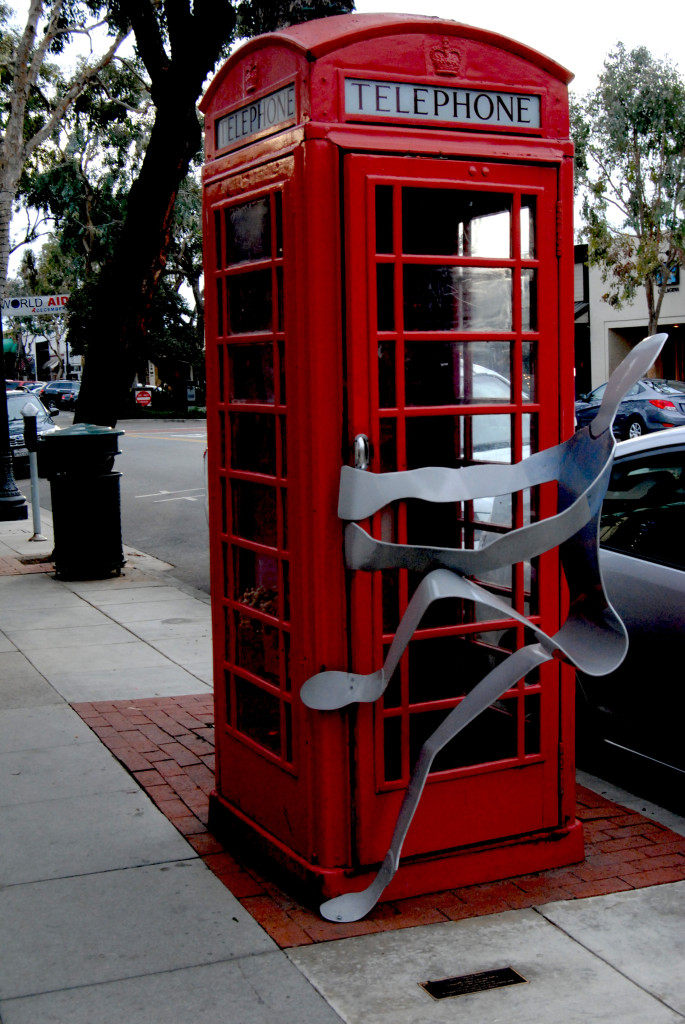 Laguna Telephone Booth Man